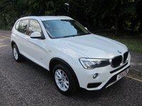 2014 BMW X3 2.0 XDRIVE20D SE 5d AUTO 188 BHP. *ULEZ COMPLIANT* £13990.00