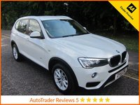 USED 2014 14 BMW X3 2.0 XDRIVE20D SE 5d AUTO 188 BHP. *ULEZ COMPLIANT* ULEZ Compliant BMW X3 XDrive Automatic with Full Leather Seats, Satellite Navigation, Climate Control, Cruise Control, Alloy Wheels and BMW Service History.  This Vehicle is ULEZ Compliant with a EURO 6 Rated Engine.