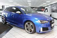 USED 2015 65 AUDI RS3 2.5 TFSI RS3 QUATTRO NAV S TRONIC 365 BHP DYNAMIC PK SUPERSPORT SEATS BO