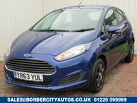 USED 2013 63 FORD FIESTA 1.6 STYLE ECONETIC TDCI 5d 94 BHP ZERO ROAD TAX