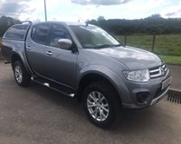 USED 2015 15 MITSUBISHI L200 2.5 DI-D 4X4 CHALLENGER NO VAT 4dr PICK UP175 BHP 6 MONTHS PARTS+ LABOUR WARRANTY+AA COVER