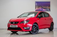 USED 2015 15 SEAT IBIZA 1.2 TSI FR BLACK 5d 105 BHP August 2020 MOT & Just Been Serviced