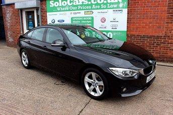 2015 BMW 4 SERIES 2.0 420D SE GRAN COUPE 4d AUTO 188 BHP £12999.00