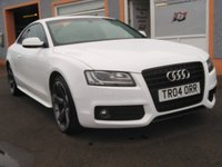 USED 2011 04 AUDI A5 2.0 TDI BLACK EDITION 2d 168 BHP