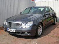 USED 2009 09 MERCEDES-BENZ E CLASS 2.1 E220 CDI EXECUTIVE SE 4d AUTO 170 BHP FULL SERVICE HISTORY