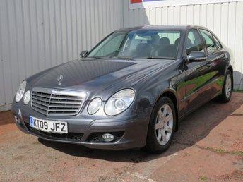 2009 MERCEDES-BENZ E CLASS 2.1 E220 CDI EXECUTIVE SE 4d AUTO 170 BHP £5495.00