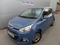 USED 2014 64 HYUNDAI I10 1.0 PREMIUM 5d 65 BHP CRUISE, BLUETOOTH, AIR CON, ONLY 11000 MILES