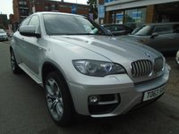 USED 2013 63 BMW X6 3.0 XDRIVE40D 4d AUTO 302 BHP ONLY 34,000 MILES! GREAT SPEC!