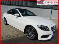 2016 MERCEDES-BENZ C CLASS 2.1 C250 D AMG LINE PREMIUM 4dr AUTO 204 BHP *FINISHED IN WHITE* £SOLD
