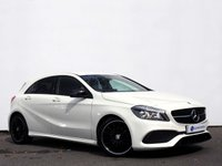 """USED 2017 67 MERCEDES-BENZ A CLASS 2.1 A 200 D AMG LINE 5d 134 BHP Night Package, Garmin Map Pilot with Rear Parking Camera & 18"""" Multi Spoke Alloy Wheels......"""