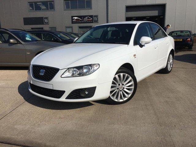 2012 62 SEAT EXEO 2.0 CR TDI SE TECH MULTITRONIC 4d AUTO 141 BHP