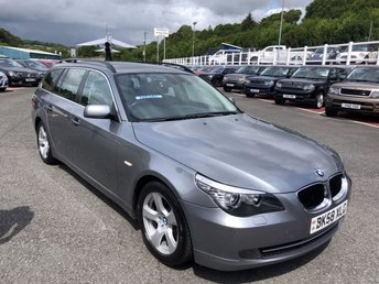 2008 BMW 5 SERIES 2.0 520D SE TOURING 5d 175 BHP £5250.00