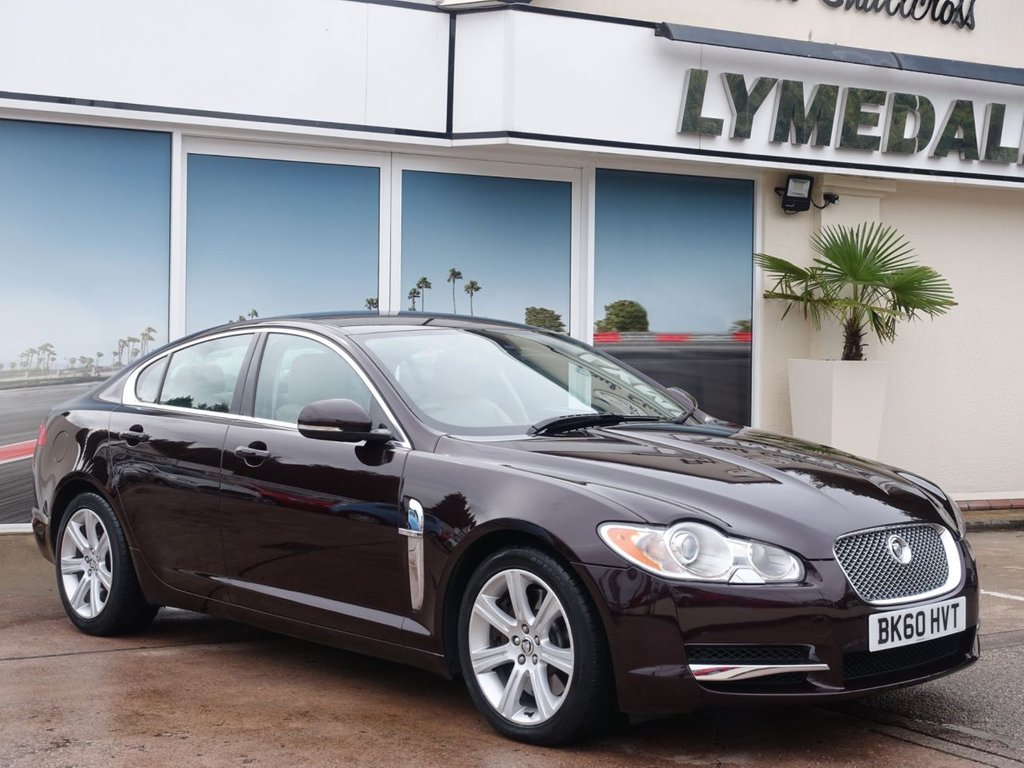 USED 2010 60 JAGUAR XF 3.0 V6 LUXURY 4d 240 BHP