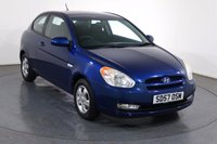 USED 2007 57 HYUNDAI ACCENT 1.4 ATLANTIC LIMITED EDITION 3d 96 BHP PARKING SENSORS I AIR CON