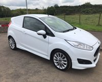 USED 2014 14 FORD FIESTA 1.6 TDCI SPORT NO VAT VAN 94 BHP 6 MONTHS PARTS+ LABOUR WARRANTY+AA COVER