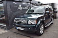 USED 2013 13 LAND ROVER DISCOVERY 4 3.0 4 SDV6 HSE 5d AUTO 255 BHP LOVELY CONDITION - LOW MILES - 7 STAMPS TO 58K MILES - LEATHER - NAV - REVERSE CAMERA