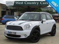 USED 2014 14 MINI COUNTRYMAN 1.6 COOPER D BUSINESS 5d 110 BHP Low Running Costs, High Spec