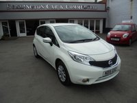 2015 NISSAN NOTE 1.2 ACENTA 5d 80 BHP SOLD