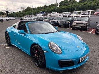 2017 PORSCHE 911 3.0 TARGA 4S PDK 2d AUTO 414 BHP £97500.00