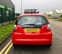 USED 2010 60 HONDA JAZZ 1.2 I-VTEC S 5 DOOR with only 27000 and full service history