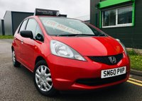 2010 HONDA JAZZ 1.2 I-VTEC S 5 DOOR with only 27000 and full service history £3995.00
