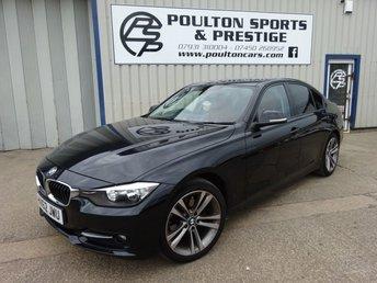 2012 BMW 3 SERIES 2.0 320D SPORT + SAT NAV + RED LEATHER + HEAT SEATS + FSH £9980.00