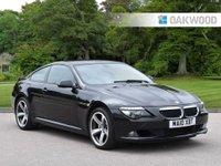 2010 BMW 6 SERIES 3.0 635D SPORT 2d AUTO 282 BHP £SOLD