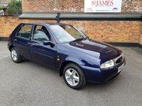 1996 FORD FIESTA 1.2 GHIA 16V 5d 74 BHP £1990.00
