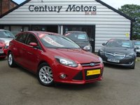 2012 FORD FOCUS 1.6 TDCI TITANIUM 5d - NEW SHAPE - NEW SHAPE £4990.00