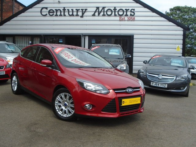 2012 12 FORD FOCUS 1.6 TDCI TITANIUM 5d - NEW SHAPE - NEW SHAPE