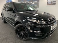 USED 2013 63 LAND ROVER RANGE ROVER EVOQUE 2.2 SD4 DYNAMIC 5d AUTO 190 BHP HUGE SPEC, F/S/H, IMMACULATE!