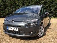 USED 2014 14 CITROEN C4 GRAND PICASSO 1.6 E-HDI AIRDREAM EXCLUSIVE ETG6 5d AUTO 113 BHP