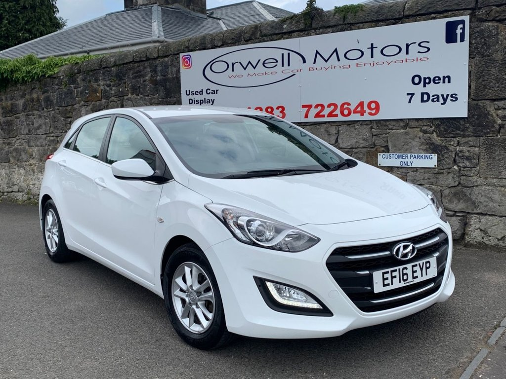USED 2016 16 HYUNDAI I30 1.6 CRDI SE BLUE DRIVE 5d 109 BHP FINANCE AVAILABLE ON THIS CAR+2 OWNERS FROM NEW+FULL SERVICE HISTORY