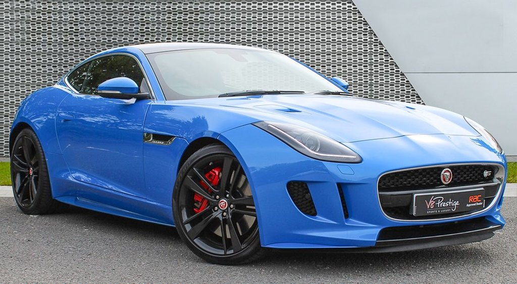 USED 2016 16 JAGUAR F-TYPE 3.0 BRITISH DESIGN EDITION AWD 2d AUTO 380 BHP PAN ROOF/B/D/EDITION/BIG SPEC