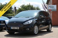 USED 2016 16 FORD S-MAX 2.0 ZETEC TDCI 5d 148 BHP NATIONWIDE DELIVERY + FINANCE AVAILABLE