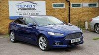 2015 FORD MONDEO 2.0 TITANIUM TDCI 5d AUTO 177 BHP £10984.00