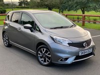 2014 NISSAN NOTE 1.2 ACENTA 5d 80 BHP £5599.00