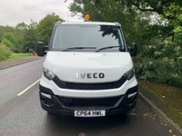 USED 2015 64 IVECO DAILY DOUBLE CAB TIPPER 2.3 126 BHP 35C13 2014 64 REG DIRECT COUNCIL ARBORIST