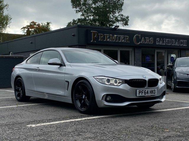 USED 2014 64 BMW 4 SERIES 2.0 420D SE 2d AUTO 181 BHP