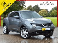 USED 2011 11 NISSAN JUKE 1.6 ACENTA 5d 117 BHP POPULAR SUV 8 SERVICE STAMPS FULL ELECTRIC PACK+AIR CON