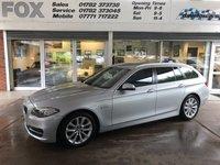 2014 BMW 5 SERIES 2.0 520D SE TOURING 5d AUTO 181 BHP £11975.00