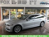 USED 2014 64 BMW 5 SERIES 2.0 520D SE TOURING 5d AUTO 181 BHP STUNNING BMW 520DSE TOURING AUTO