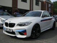 USED 2016 16 BMW M2 3.0 M2 2d AUTO 365 BHP