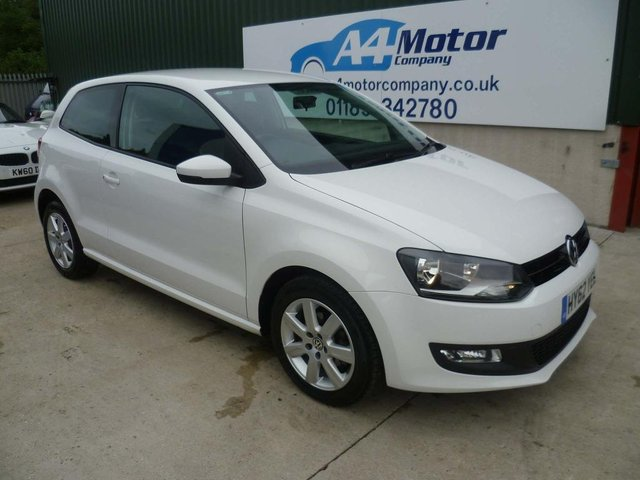 2012 62 VOLKSWAGEN POLO 1.2 Match 3dr