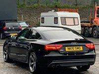 USED 2015 15 AUDI A5 3.0 TFSI Black Edition Sportback S Tronic quattro 5dr B&O/PrivacyGlass/HeatedSeats