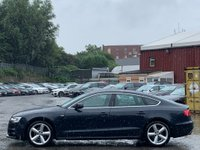 USED 2011 61 AUDI A5 2.0 TDI S line Sportback 5dr Cruise/Nav/Xenons/Blueooth/AMI