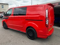 USED 2019 19 FORD TRANSIT CUSTOM 2.0 300 L1H1 Limited Double Cab-in-Van 6dr MOTION R LAUNCH VEHICLE
