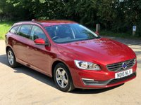 2016 VOLVO V60 2.0 D2 BUSINESS EDITION 5d 118 BHP