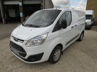 USED 2016 66 FORD TRANSIT CUSTOM 270 TREND 2.2TDCI 125PS L1 H1 VAN DIRECT FLEET CO. - ONLY 39000m