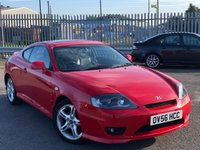 USED 2006 56 HYUNDAI S-COUPE 2.0 ATLANTIC 3d 141 BHP *ONLY 64K MILES, CRUISE CONTROL, 11 SERVICE STAMPS*